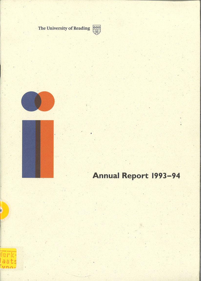 Annual Report 1993-1994