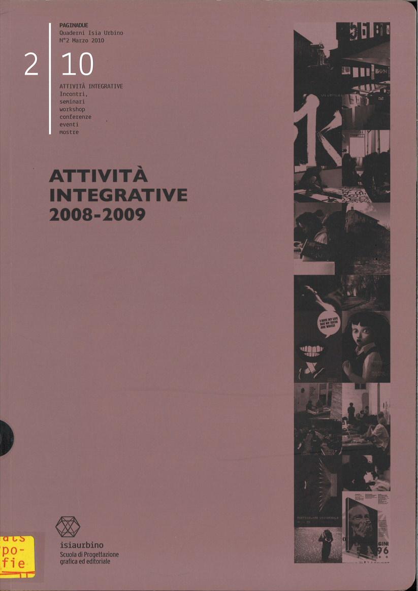 Attività Integrative 2008-2009