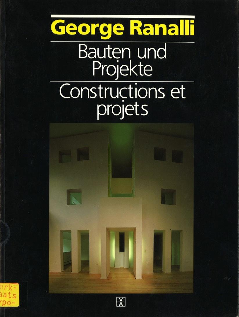 Bauten und Projekte. Constructions et Projets