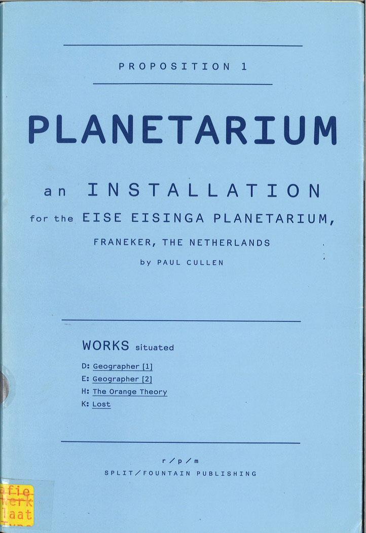 Proposition 1: Planetarium: r/p/m