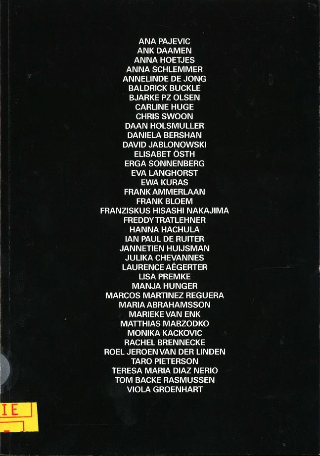 End-Exam Catalogue 2007