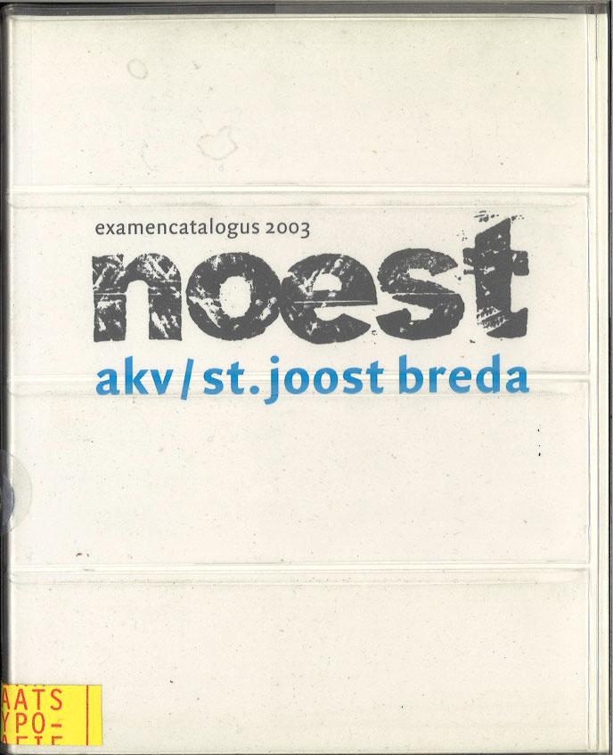 Noest: Examencatalogus 2003