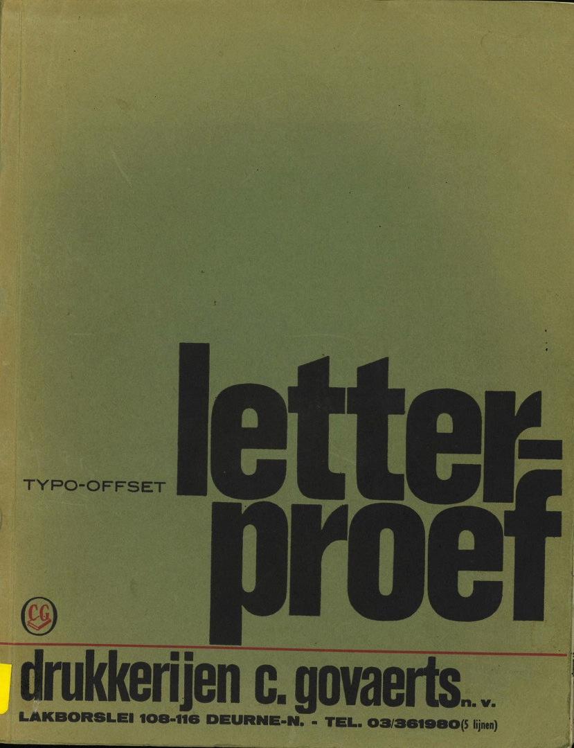 Letterproef
