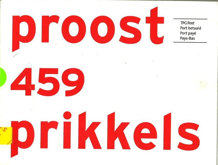 Proost en Prikkels no.459