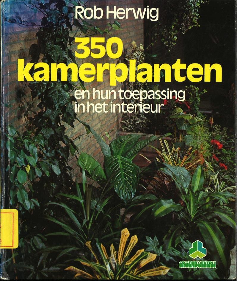 350 Kamerplanten: en hun toepassing in het interieur, Tiende druk
