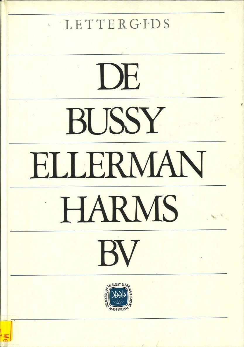 De Bussy Ellerman Harms BV