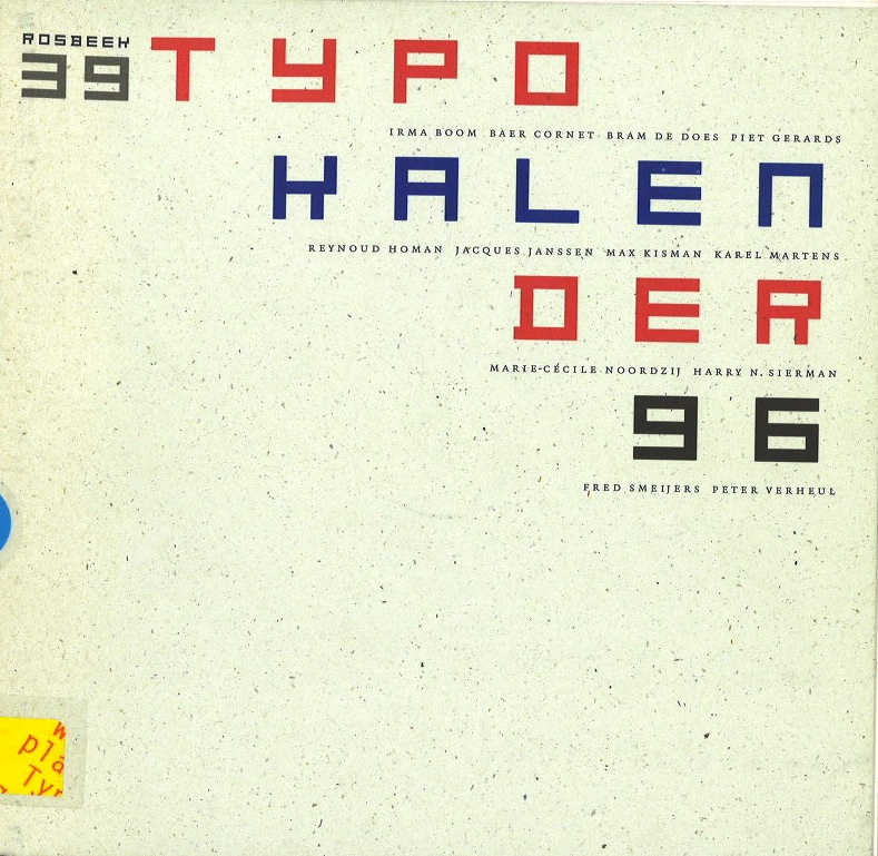 TYPO KALENDER 96