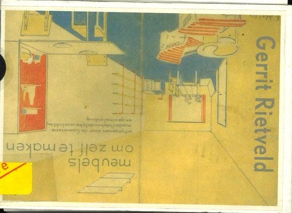 Gerrit Rietveld, meubels om zelf te maken
