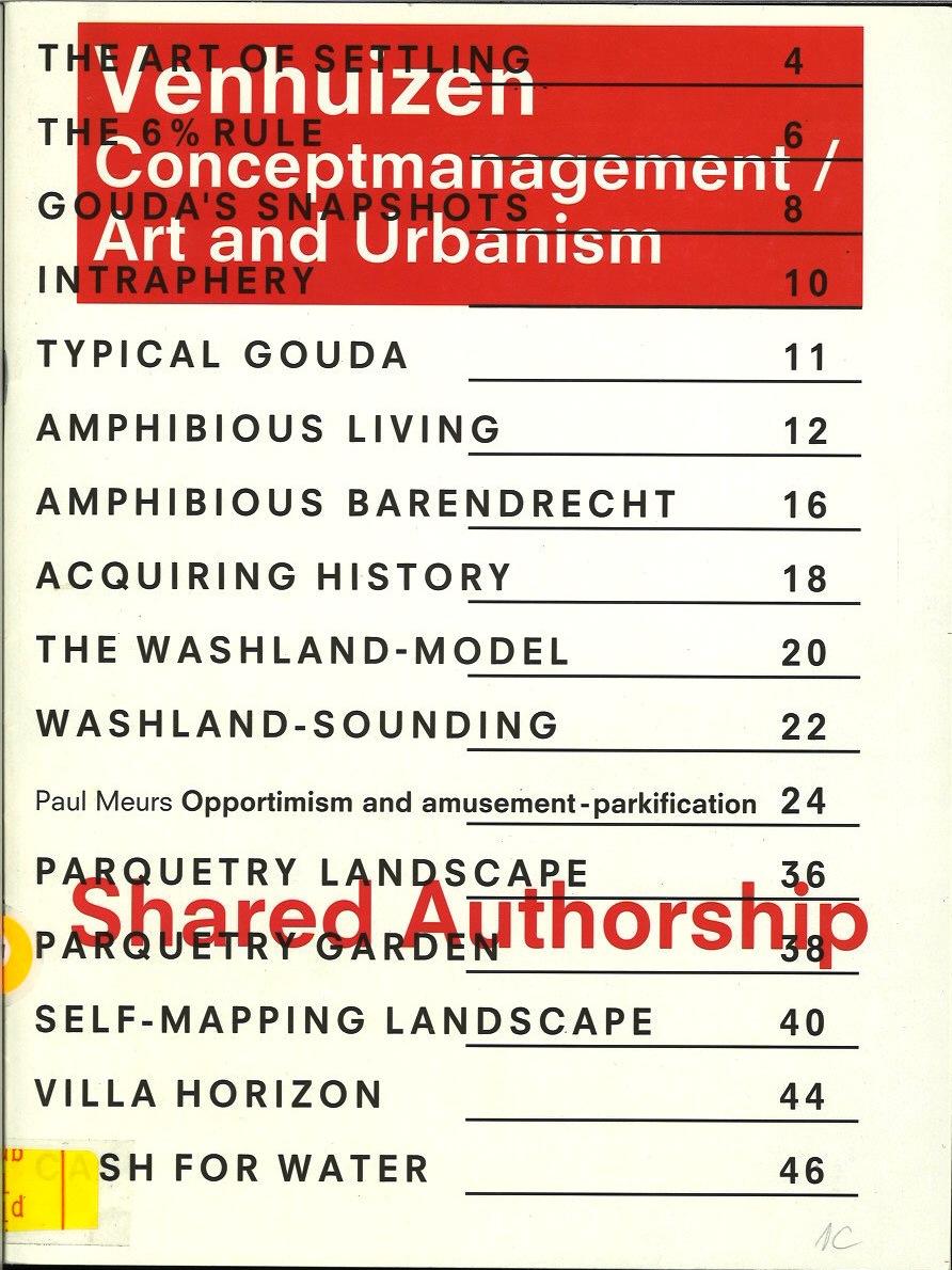 Conceptmanagement / Art and Urbanism