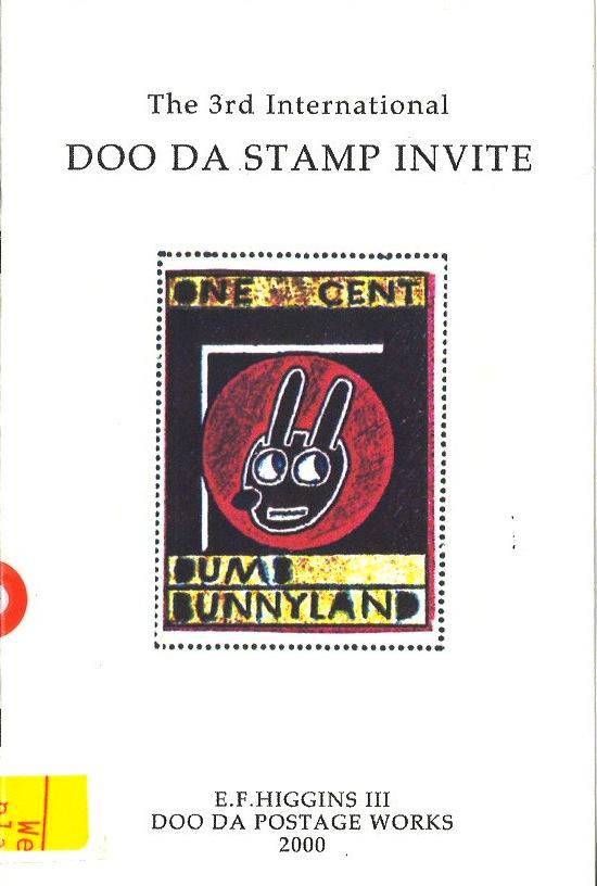 Third International Doo Da Stamp Invite