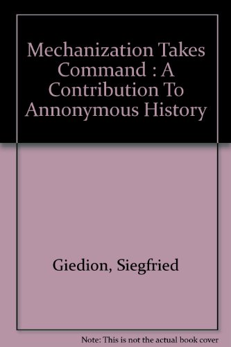 Mechanization Takes Command - A Contribution to Anonymous History