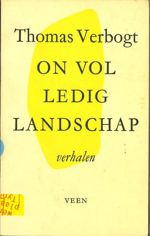 Onvolledig landschap (Dutch Edition)