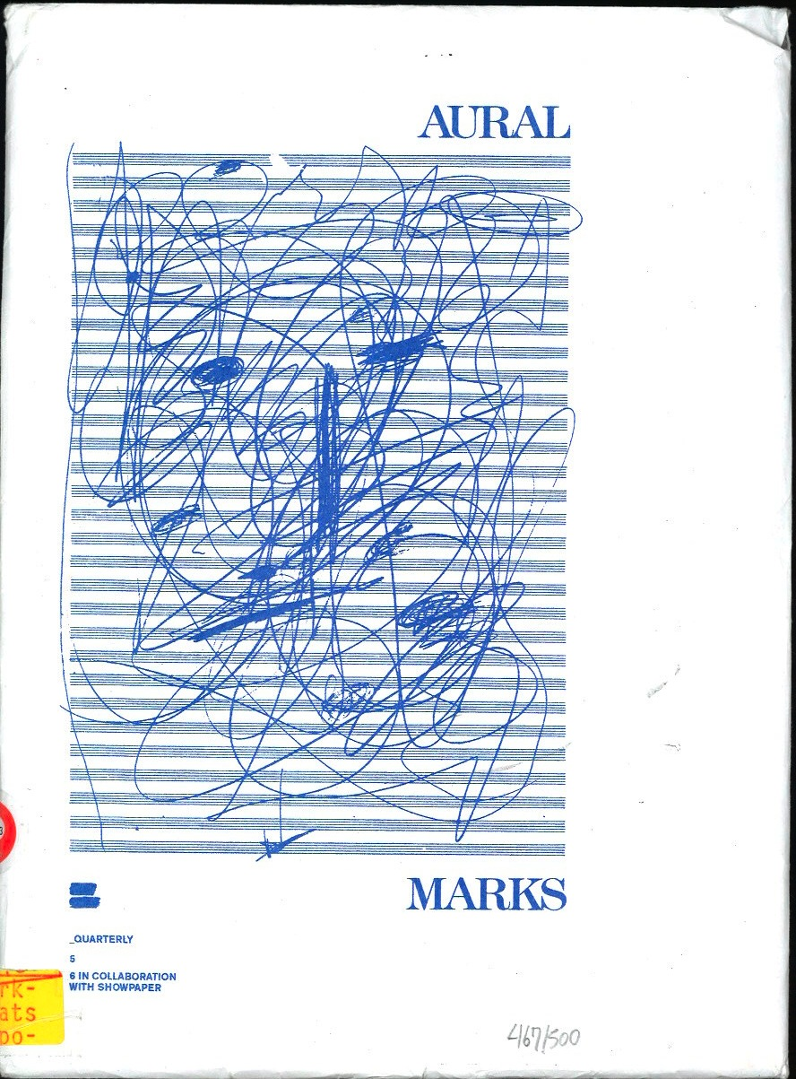 Aural Marks. Swill Children quarterly 5/6
