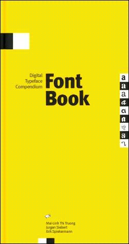 FontBook [Digital Typeface Compendium]