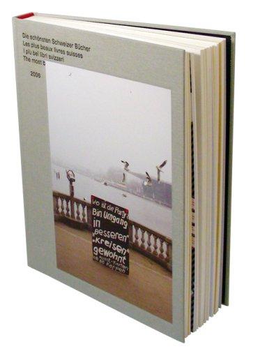Die schönsten Schweizer Bücher 2006, Les plus beaux livres suisses 2006