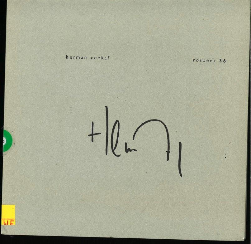 Herman Zeekaf: Rosbeek 36