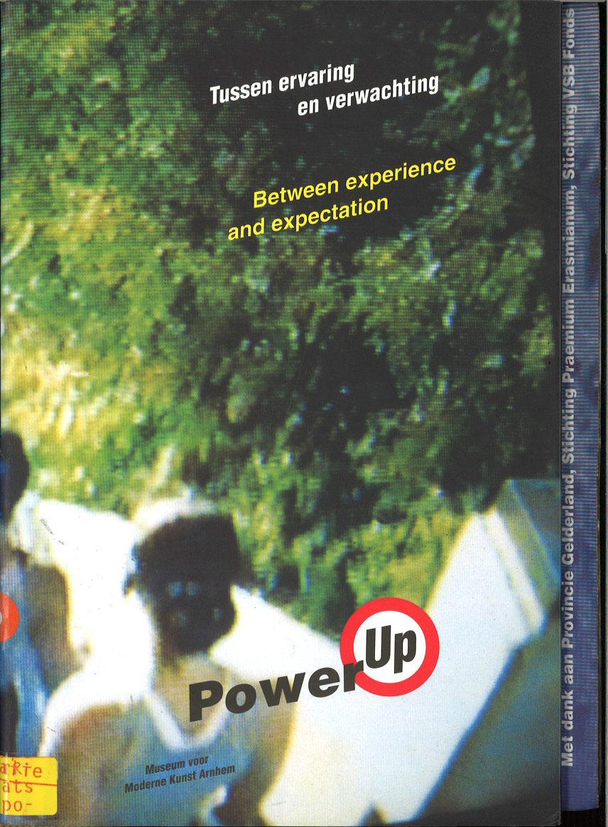 Tussen ervaring en verwachting (Between experience and expectation)