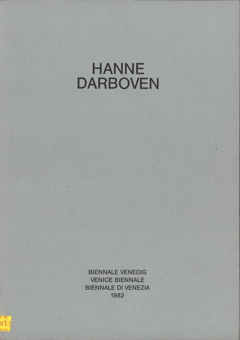 Venice Biennale 1982