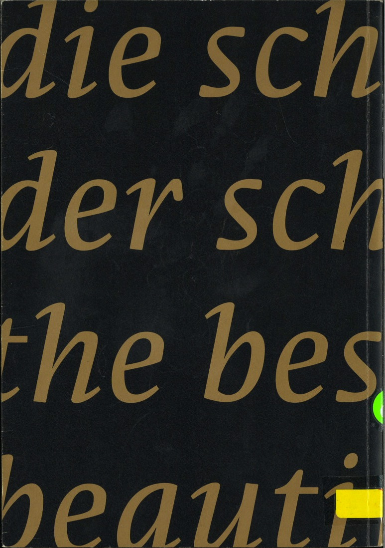 Schönste Bücher aus aller Welt / Best Book Design from all over the World since 1991