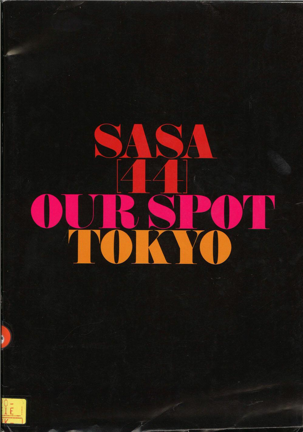 sasa [44] our spot tokyo