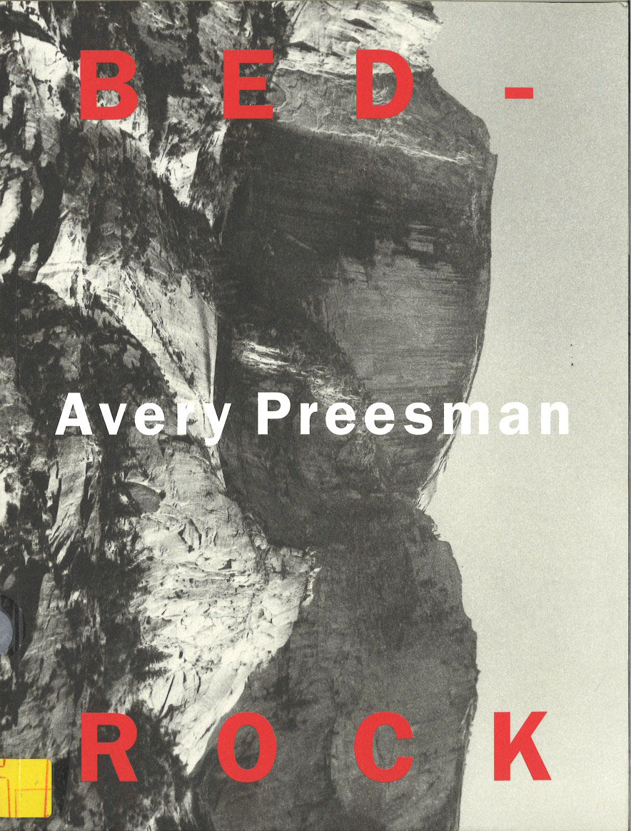 Avery Preesman - Bed-Rock - Exhibition 2001