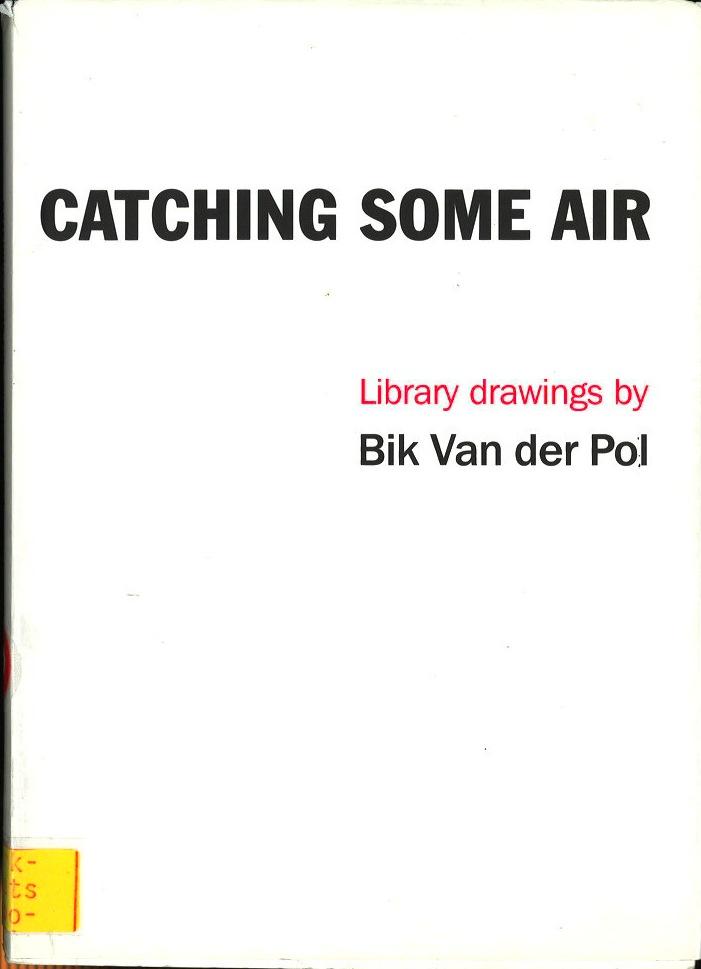 Catching Some Air: Library Drawings by Bik Van der Pol