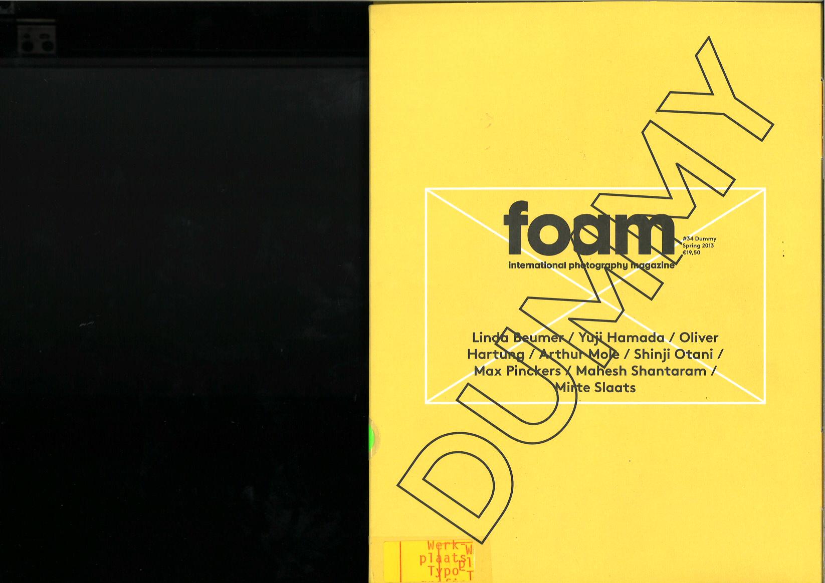 Foam #34 – Dummy