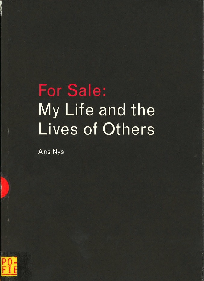 For Sale: My Life and the Lives of Others