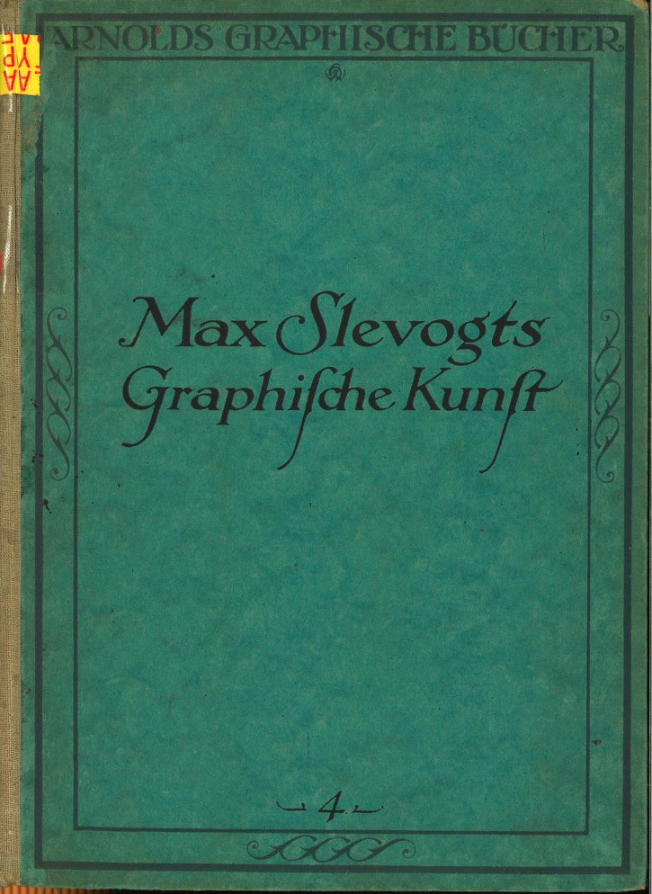 Max Slevogts Graphifche Kunft