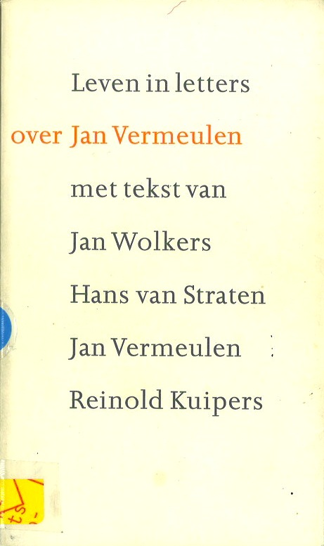 Leven in Letters, over Jan Vermeulen