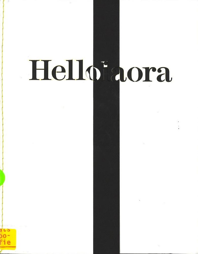 Livia Lima: hello / ola / kiaora