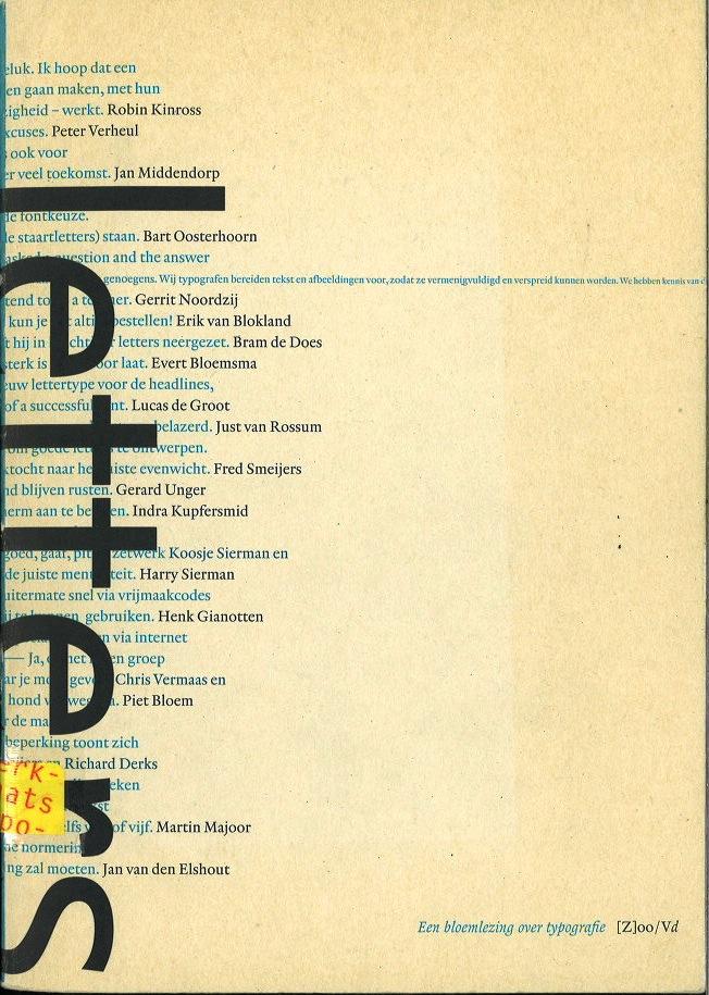 Letters - een bloemlezing over typographie