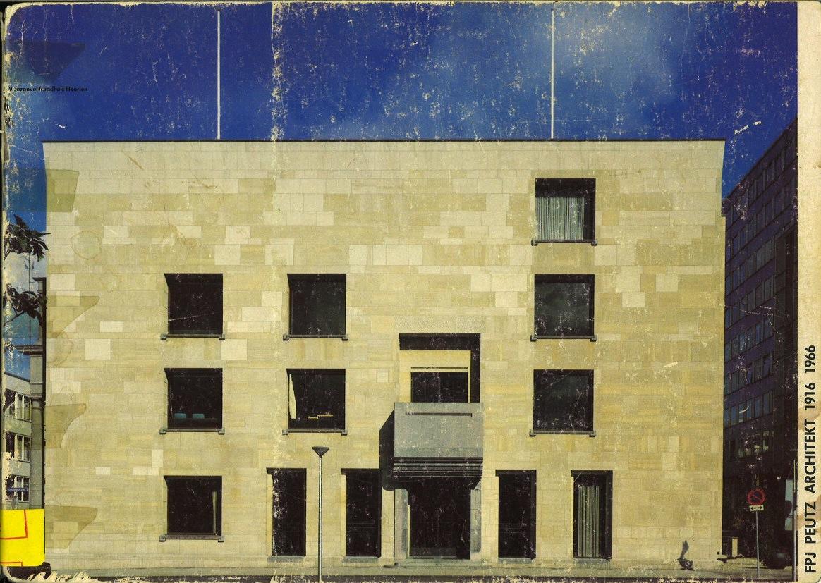 FPJ Peutz Architekt 1916 1966