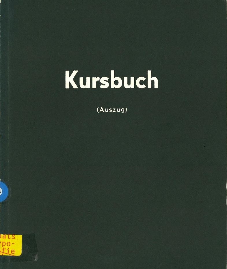 Das Kursbuch