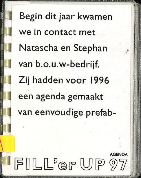 Fill'er UP 1997 (agenda)