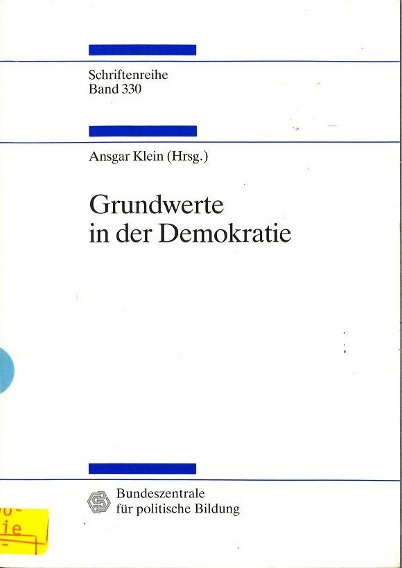 Grundwerte in der Demokratie