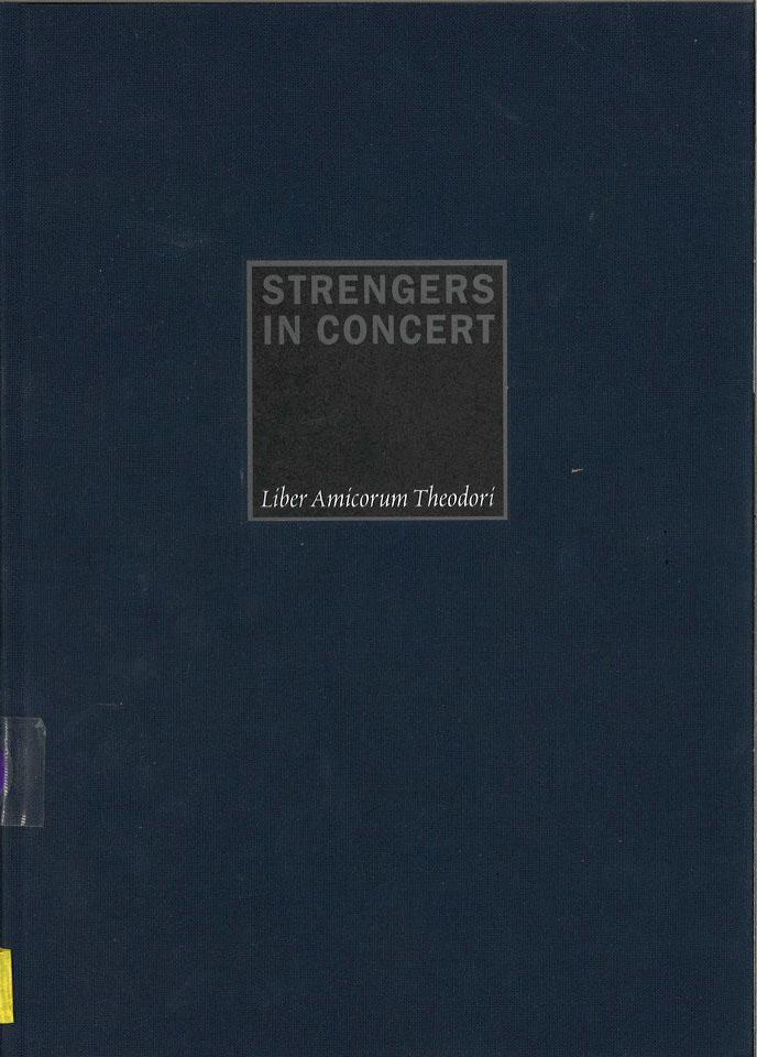 Strengers in Concert