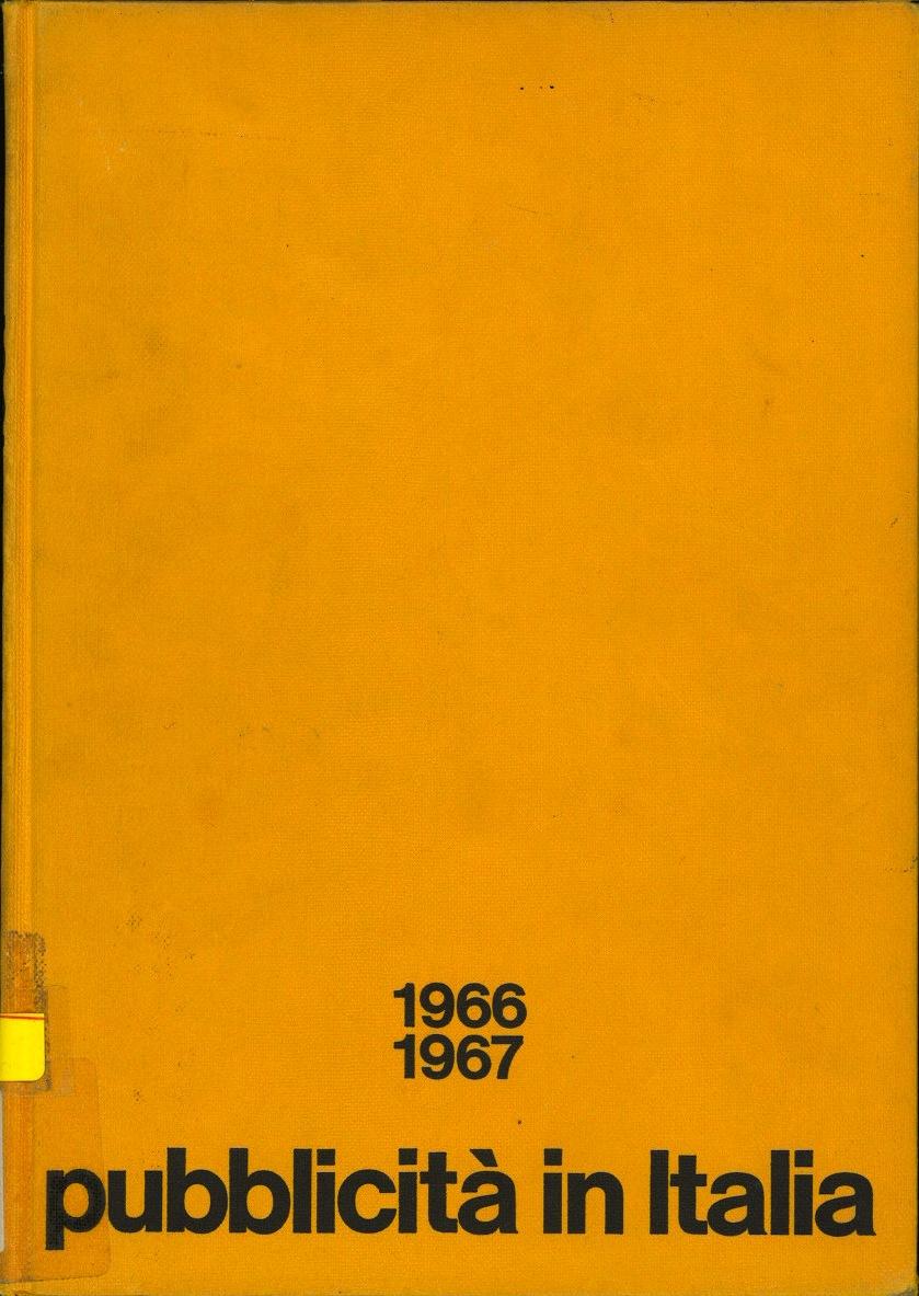 Pubblicita in Italia: 1966-1967