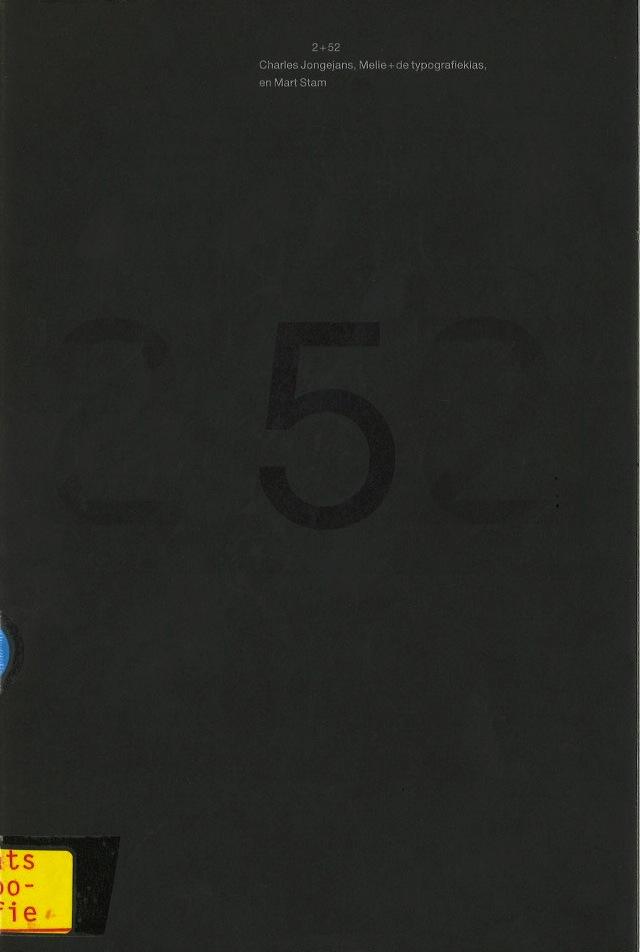 2+52\Charles Jongejans, Melle+de typografieklas, en Mart Stam
