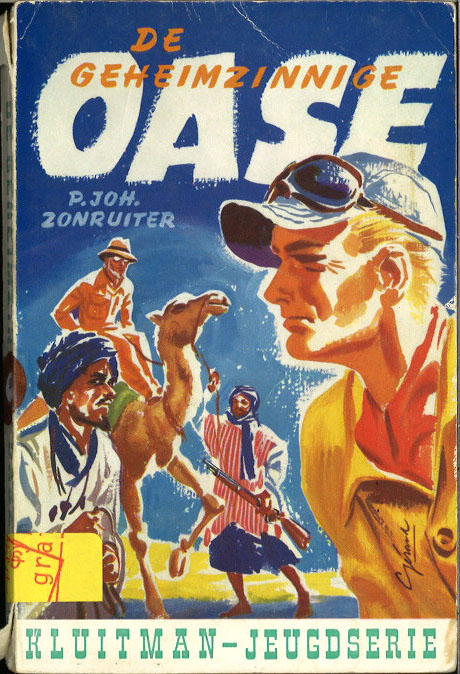 De geheimzinnige oase (een nieuw avontuur van Peter Fleming)