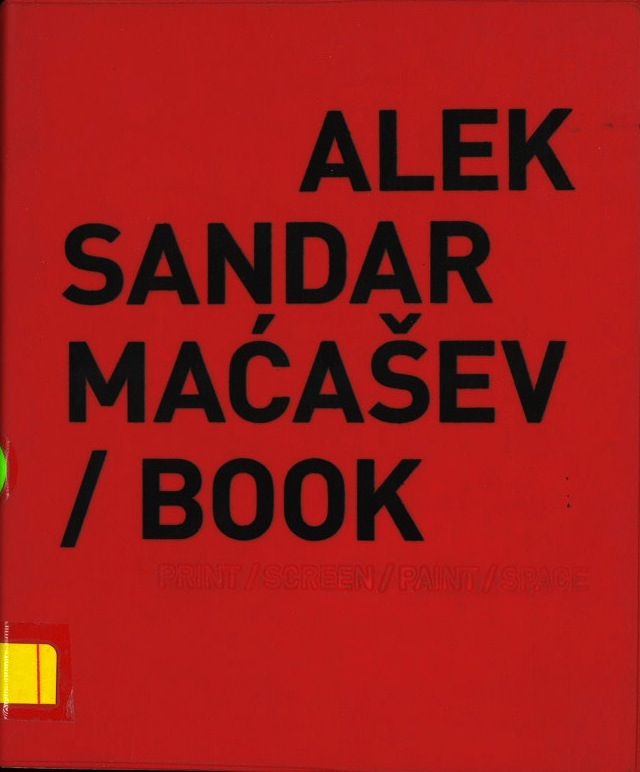 Aleksandar Maćašev / Book